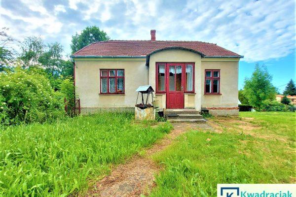 Dom w Jaszczwi na działce 26ar